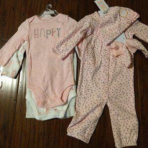 Carter's Baby girl Bundle New 6M